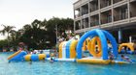 Van Goede Kwaliteit opblaasbare waterpark & Het opblaasbare Waterpark voor Partij, voegt Opblaasbare Waterspelen voor Huurzaken samen te koop