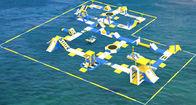 Van Goede Kwaliteit opblaasbare waterpark & Park van het Bouncia het Opblaasbare Drijvende Water/Reuze Opblaasbaar Park voor Overzees met TUV Certificatie te koop