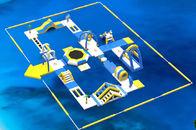 Van Goede Kwaliteit opblaasbare waterpark & Opblaasbare Drijvende Waterpark/van het Jonge geitjeswater Parkprojecten met 0.9mm het Geteerde zeildoek van pvc te koop