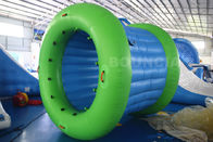 Van Goede Kwaliteit opblaasbare waterpark & 0.9mm het Geteerde zeildoek Opblaasbare Water van pvc het Lopen Rolbal met Duurzame Netto Structuur te koop