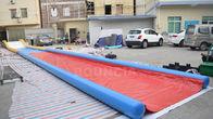 China 27m verzegelde de Lange Lucht Opblaasbare Waterdia's voor Oever van het meer/Opblaasbare Misstapn Dia fabriek