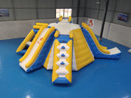 Bouncia Inflatable Water Games / Inflatable Aqua Fun Park For Sale