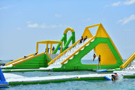 Giant Inflatable Aqua Park Sports Equipment / Inflatable Water Park Games For Sea