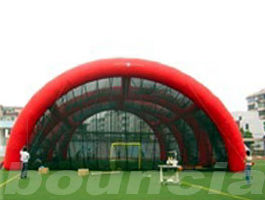 0.4mm PVC Tarpaulin Inflatable Paintball Arena / Inflatable Paintball Field