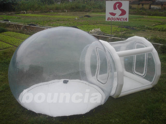 Outdoor Single Tunnel Inflatable Bubble Camping Tent